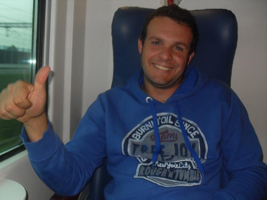 Tonino Motta che aprira il torneo contro Francesco Patti