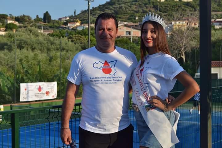 Mimmo Italiano (Presidente AMDAS) e Chiara Siciliani