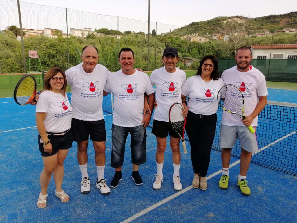 I Tennis con l'Associazione AMDAS