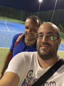 Tonino Motta e Bruno Calderone (Responsabile del Centro tre alberi di Pace del Mela)