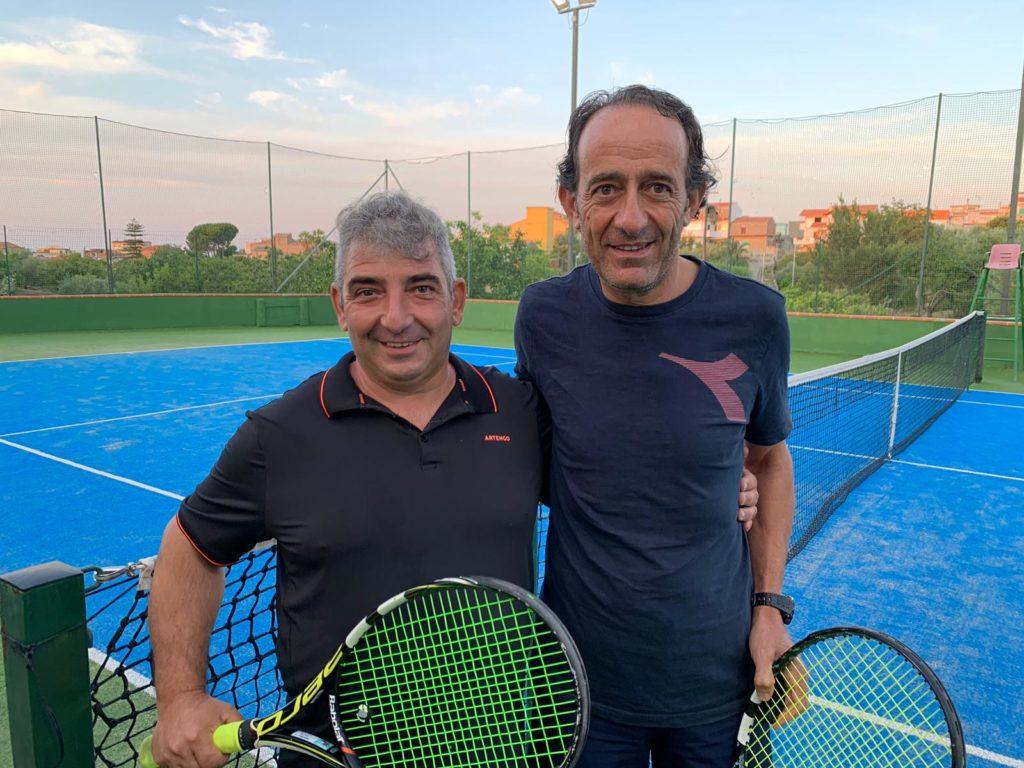 Enzo Maffei e Giovanni Patti