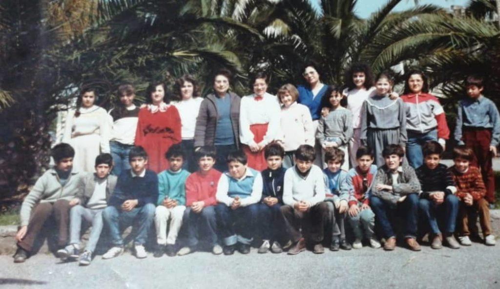1^ C del 1985 della Scuola Giovanni Verga di Barcellona Pozzo di Gotto - Me