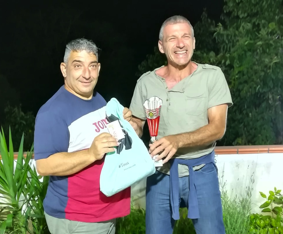 Enzo Maffei e Angelo Pace