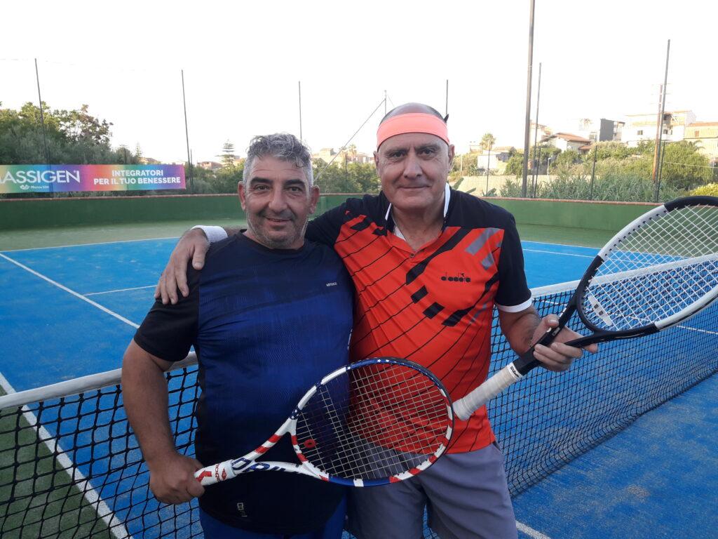 Enzo Maffei e Ciccio Patti