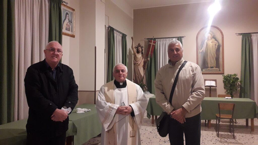 Padre Giuseppe Triglia, Padre Nunzio Triglia e Francesco Anania