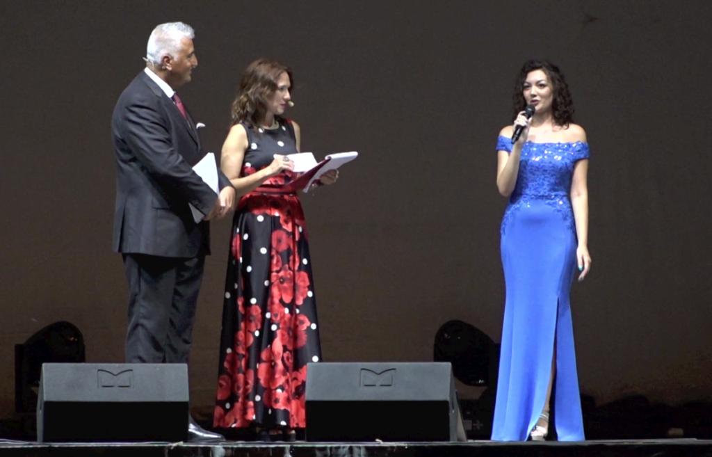 Francesco Anania, Selene Lungarella e Laura Sangrigoli